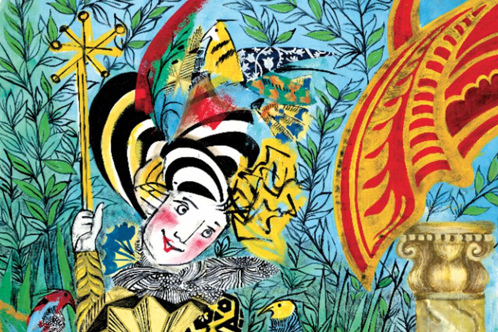 Illustrazione del Parco del Flauto Magico