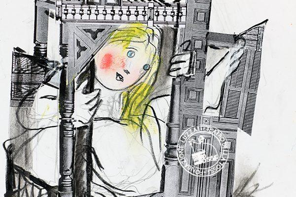 Wonderful Alice Illustrazione di Emanuele Luzzati